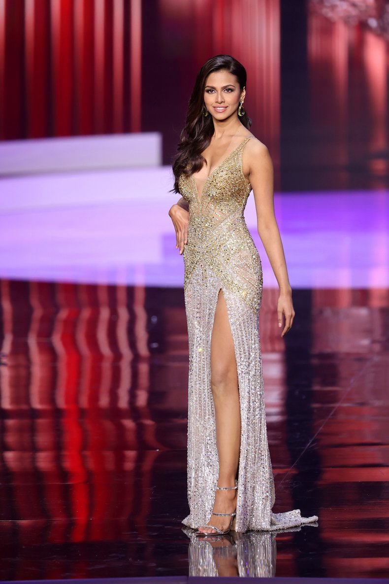 Miss Universe India Adline Castelino