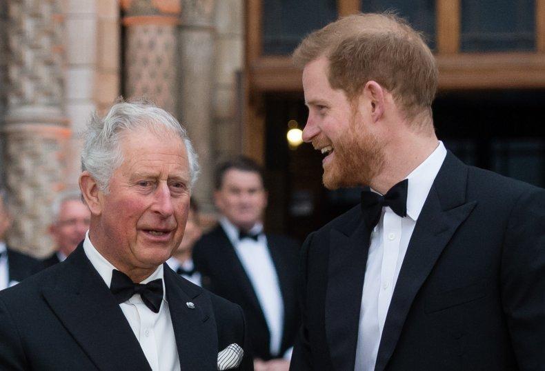 Prince Harry and Prince Charles
