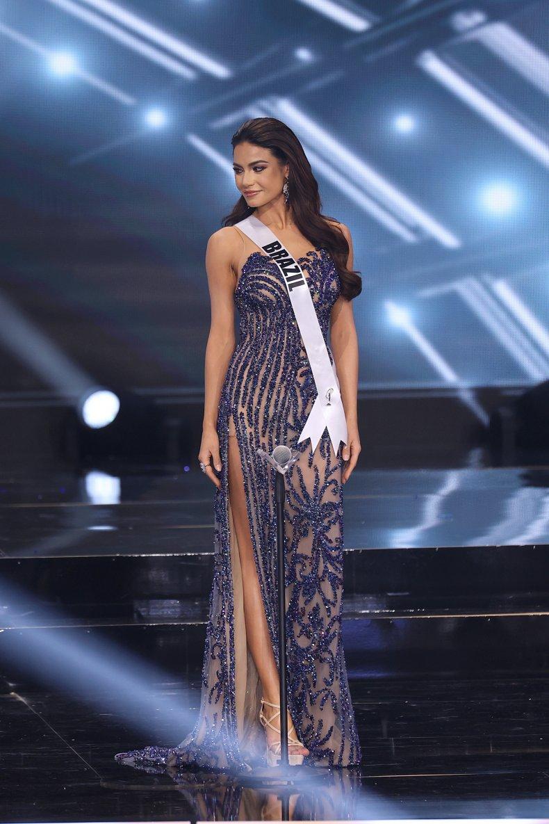 Miss Universe Brazil Finalist Julia Gama