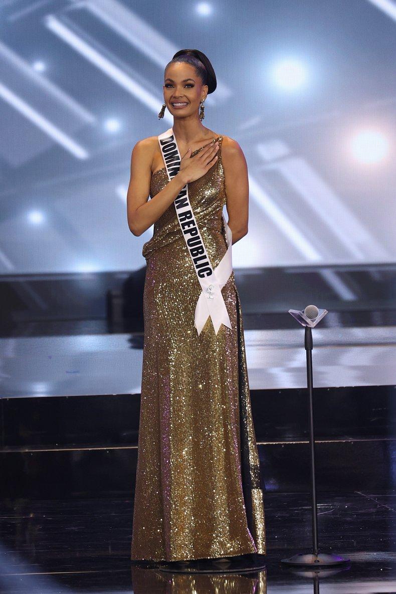 Miss Universe Dominican Republic Finalist Kimberly Jiménez