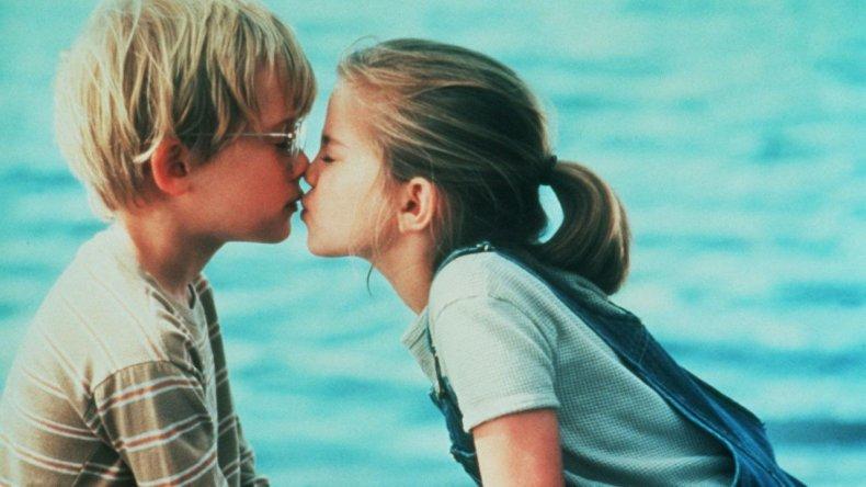my girl best kiss scene