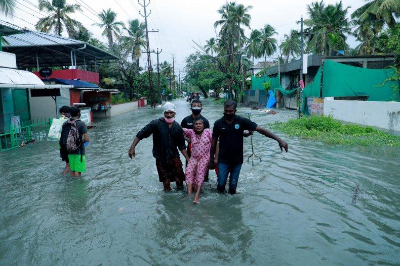 India Cyclone Evacuation