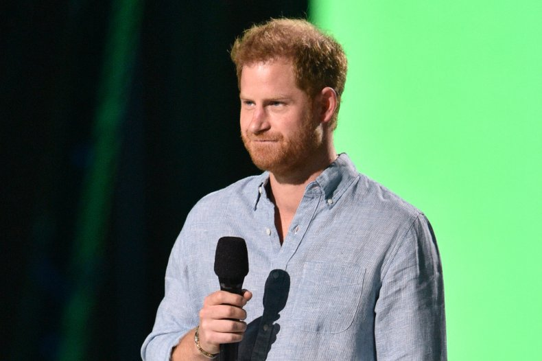 Prince Harry Speaks to Vax Live