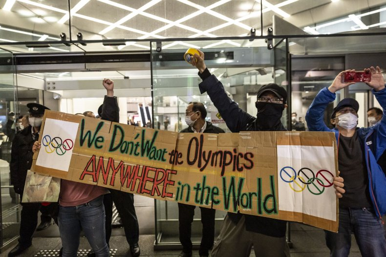 Protests Against Tokyo Summer Olympics