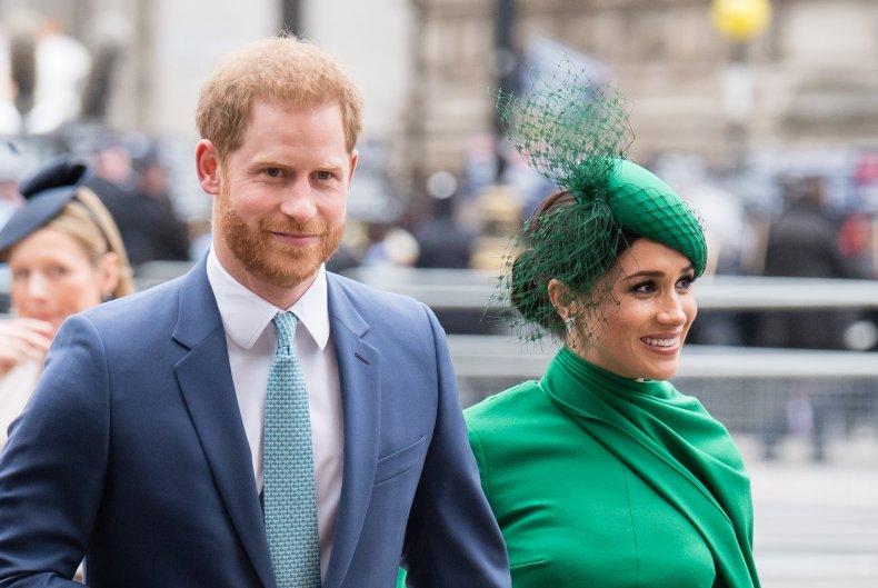 Prince Harry and Meghan Markle in U.K.