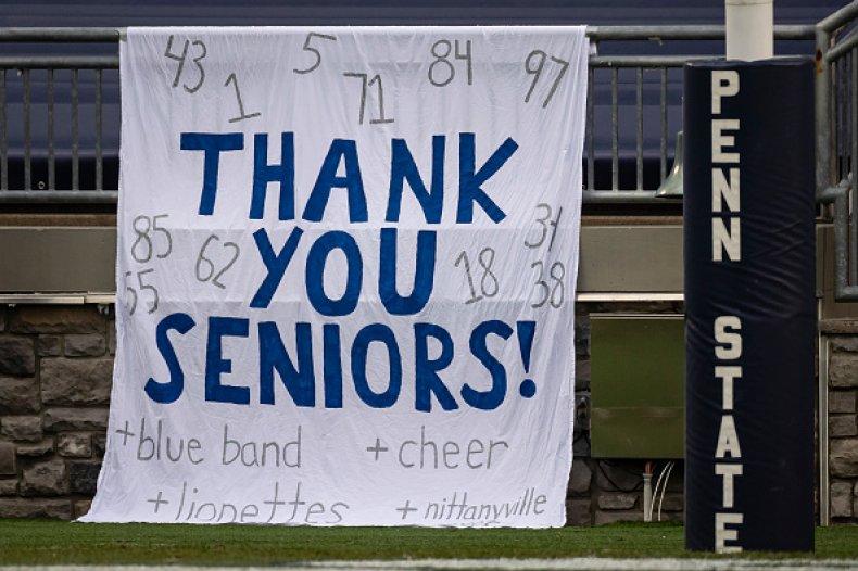 Penn State Seniors Freshmen Sophomores Gender