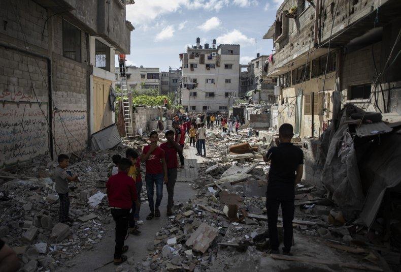 Gaza City Airstrikes Continue