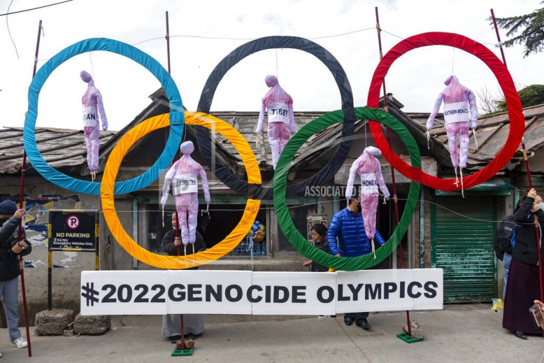 Boycott of the Beijing Olympics