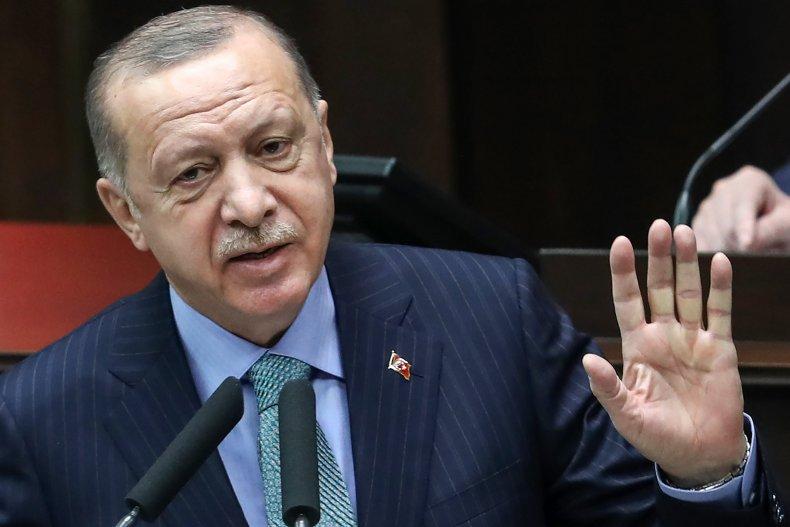 Turkish President Erdogan Delivers Speech