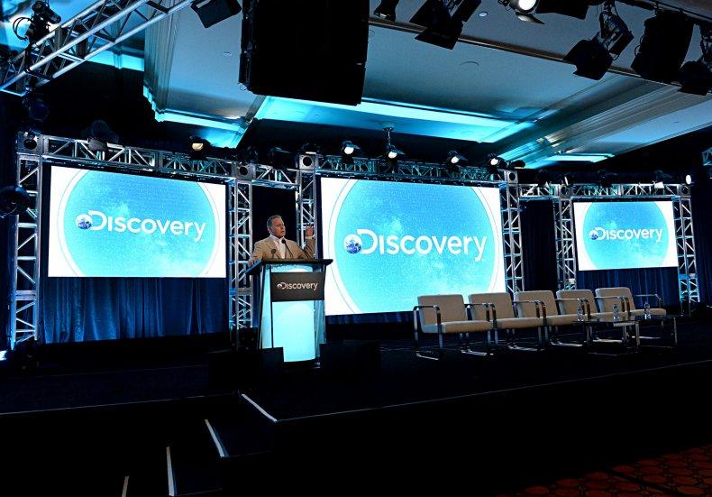 Discovery CEO, David Zaslav