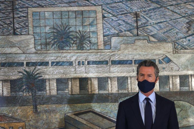 Gavin Newsom Masks