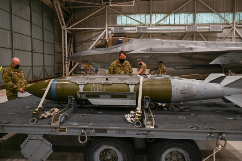 us, gbu-31, joint, direct, attack, munition