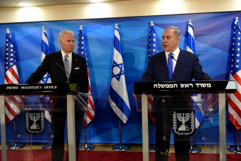Joe, Biden, Benjamin, Netanyahu, Jerusalem, Israel