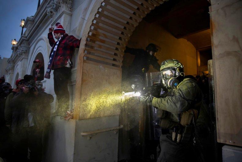 Christopher Alberts silahlı silah ateşli silah capitol isyanları