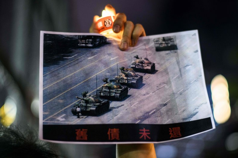 Hong Kong Defies Ban To Mark Tiananmen