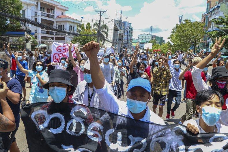 Myanmar Internet Access Restriction