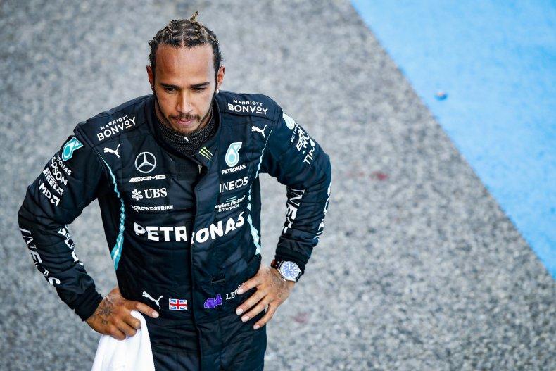Formula One world champion Lewis Hamilton