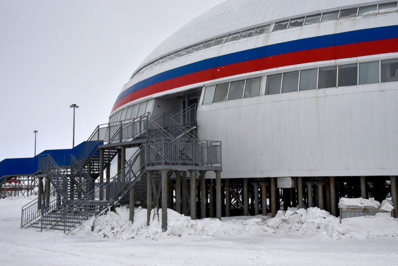 Russia Arctic Military base