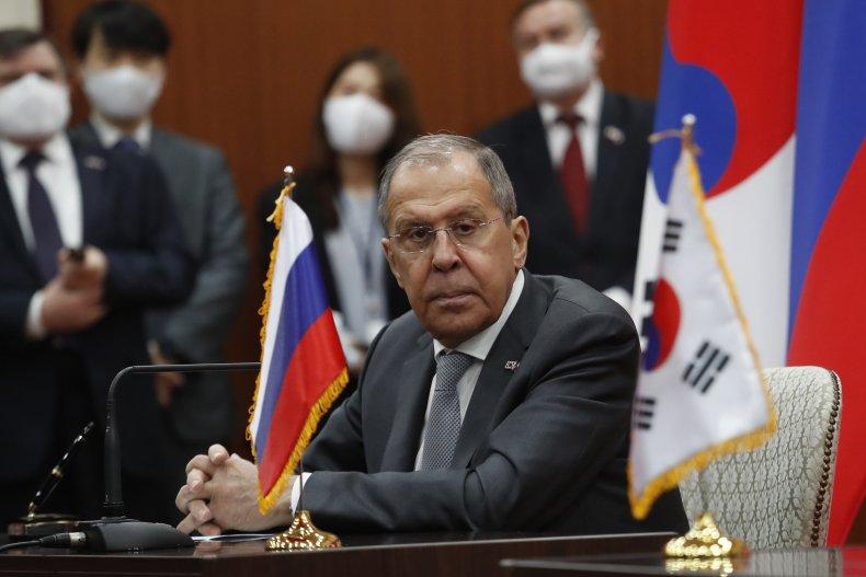 Lavrov Visits South Korea