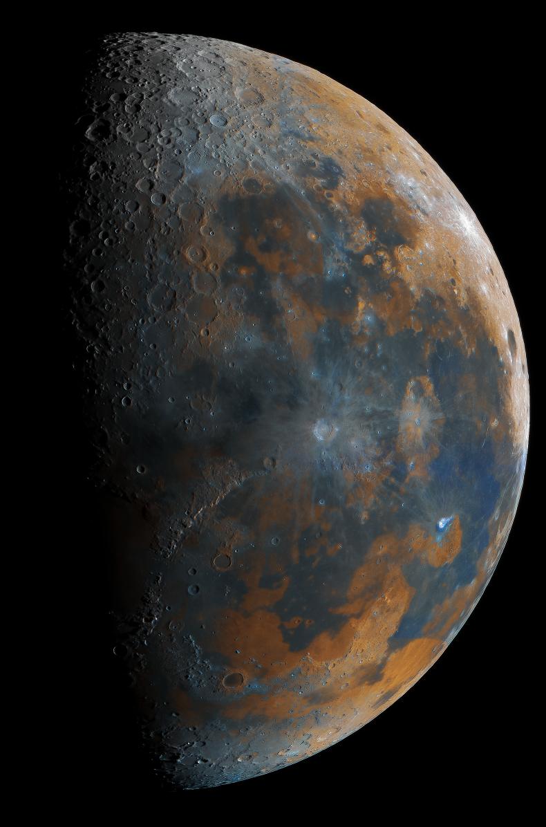 Teen Captures Moon Combing 50,000 different shots