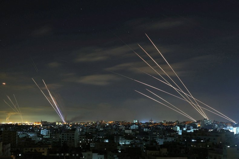 Israel deploys Iron Dome to intercept Hamas-fired