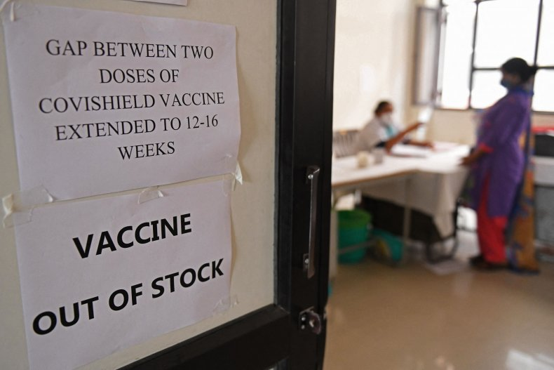 Vaccine rollout in India