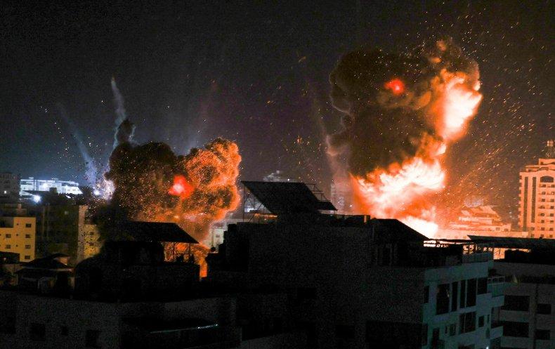 gaza, strike, israel, palestinian, conflict