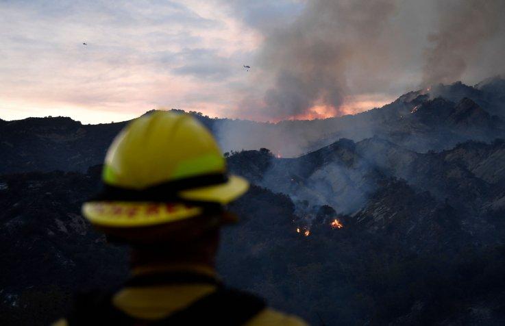 Palisades fire May 2021