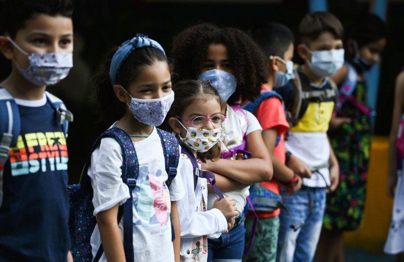 10-year-old boy student anti mask speech video