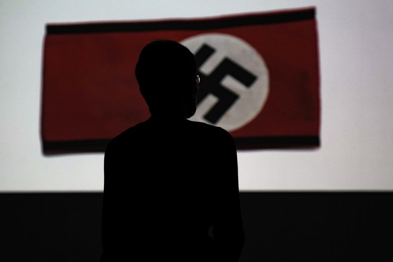 nazi flag Rio Americano High sacremento