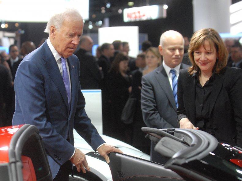 President Biden Auto Show