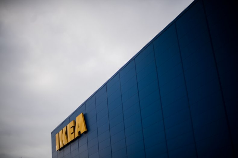 Stock image of an Ikea store