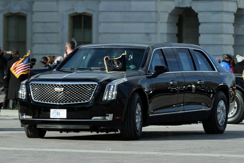 Biden presidental limousine