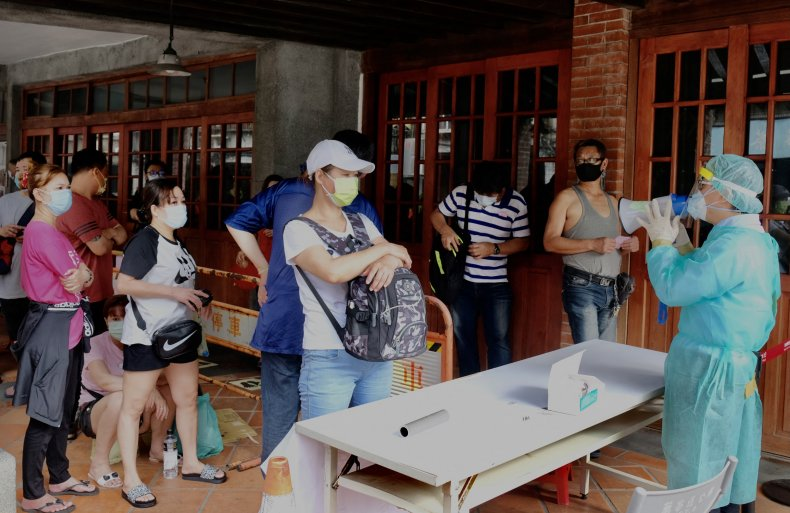 Taiwan Coronavirus Testing