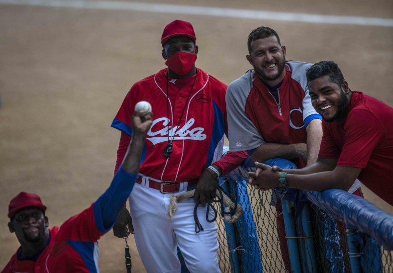Cuba's Baseball Team