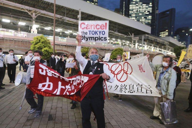 Demonstration against 2020 Olympics