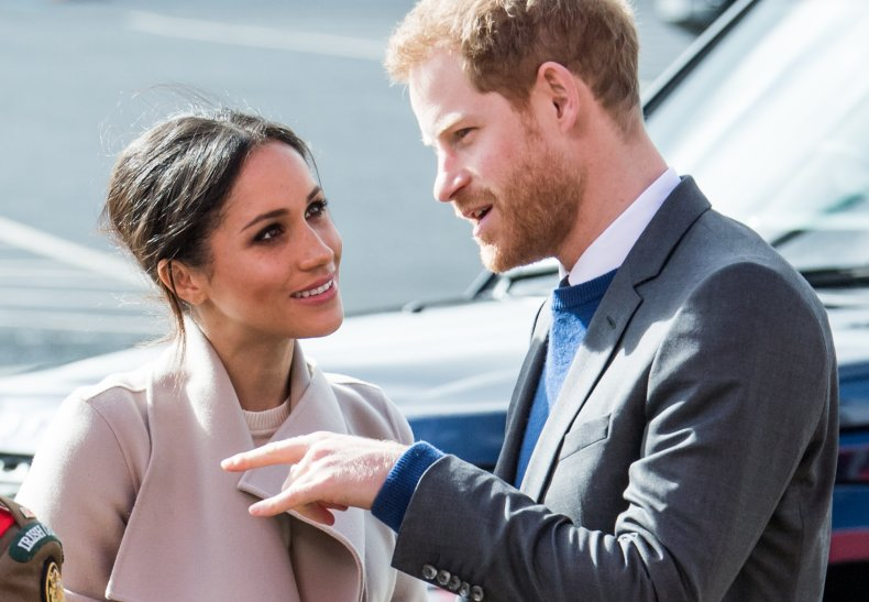 Meghan Markle and Prince Harry in Ireland