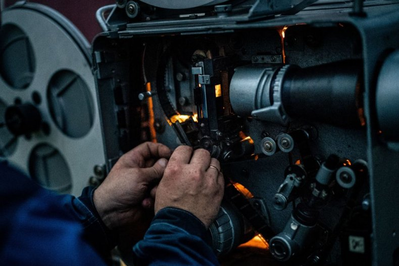 Stock photo of film reel