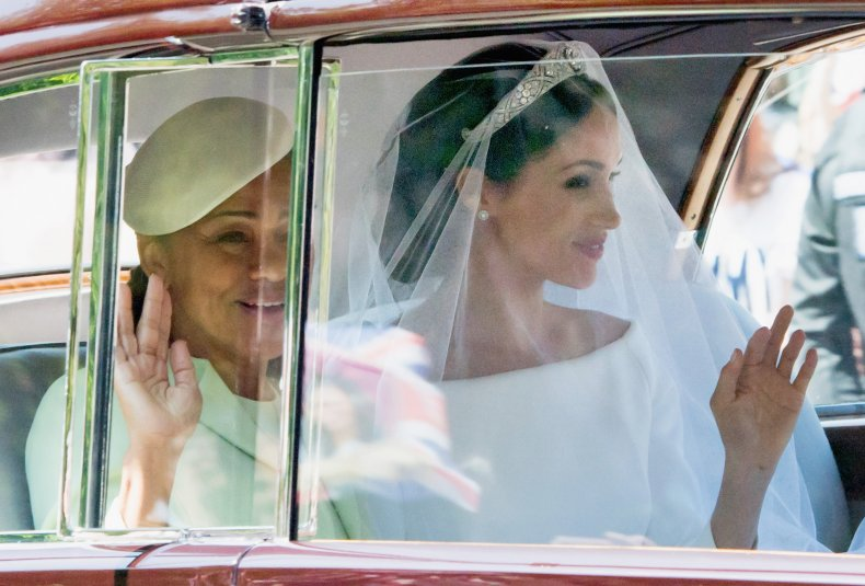 Meghan Markle and Doria Ragland at Wedding