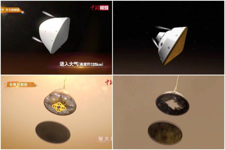 China Video Borrows From NASA Mars Mission