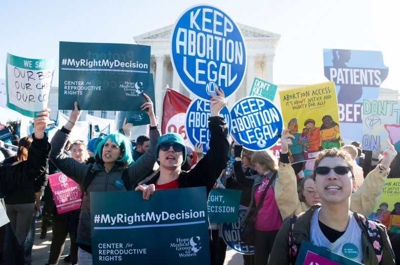 Pro-Choice Activists March in DC