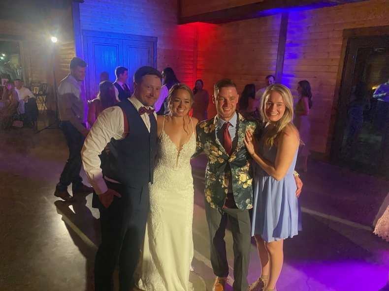 Image from Nichole and Kyle Drzewiecki's wedding