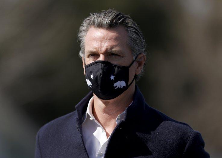 Gavin Newsom mask