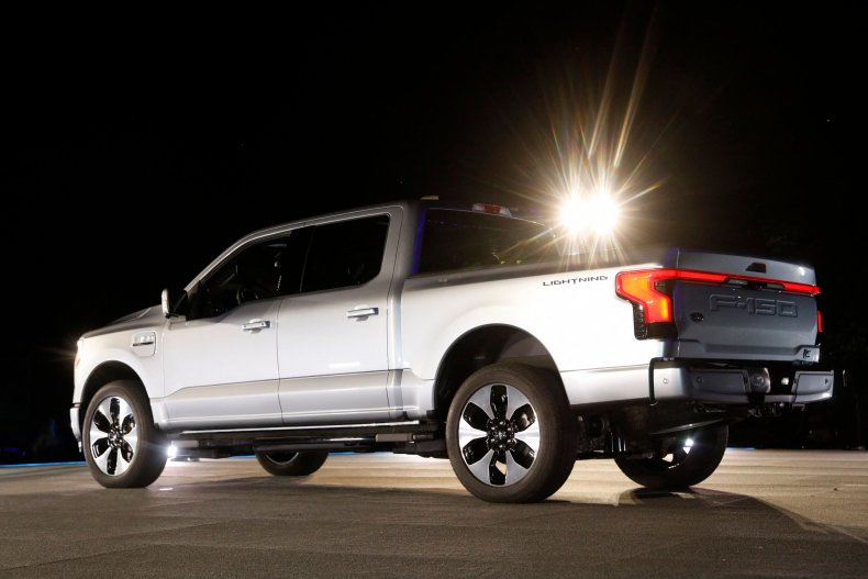Ford's F-150 Lightning truck unveiled in Michigan