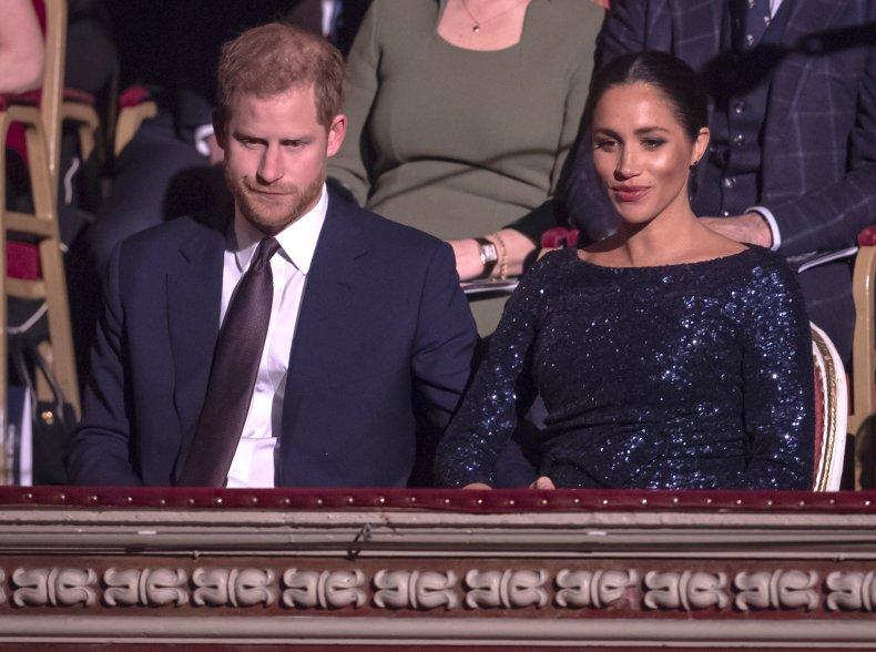 Prince Harry, Meghan Markle's Albert Hall Appearance