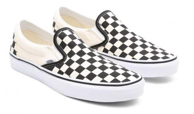 Checkerboard pair of Vans