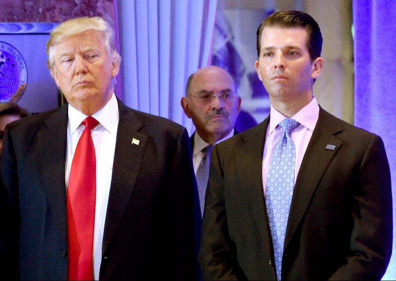 Donald Trump with Allen Weisselberg