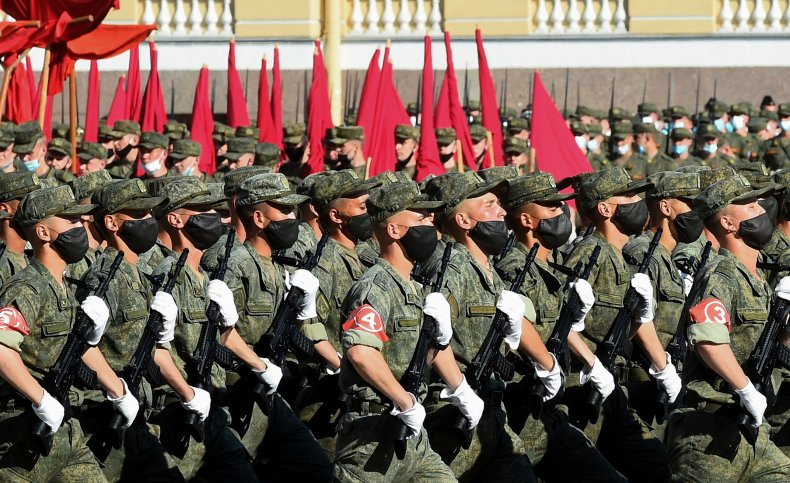 Russian military cadets