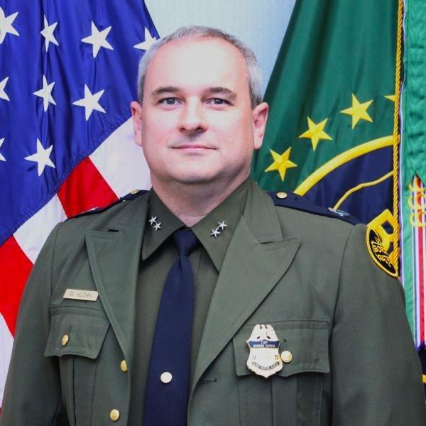 Laredo Sector Chief Patrol Agent Matthew Hudak
