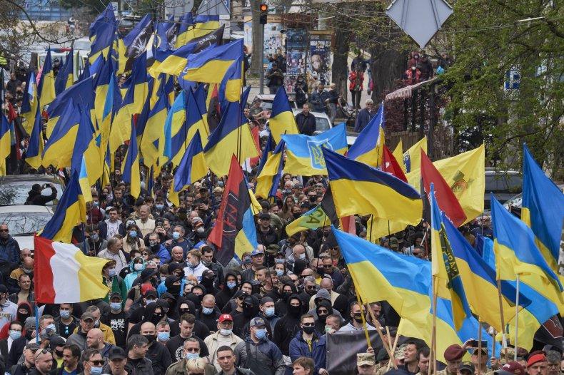 Odessa Ukraine Commemoration